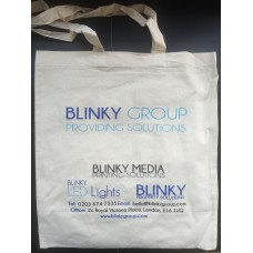 Standard 4oz Cotton Shopper (1 Colour 1 Sided Print)