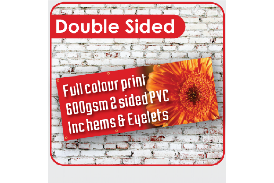 Full Colour Double Sided Banners