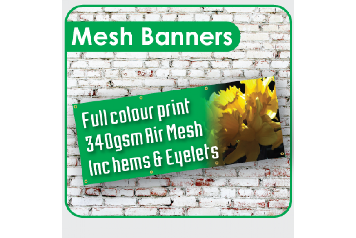 Full Colour Mesh Banners